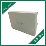 Коробка ящика роскошного подарка конструкции упаковывая бумажная с тесемкой