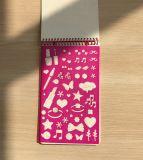 Libro de la actividad del Sketchbook del diseño de la manera para los niños