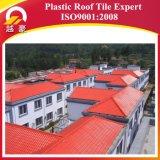 Плитка крыши синтетической смолаы PVC ASA материала толя сертификата ISO