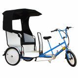RIKSCHA Pedicab Preis des Passagier-elektrischer 250W 36V Selbst