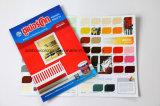Colores promocionales de Pantone de la tarjeta del color de la pintura de la Petróleo-Base