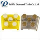 абразив пола 4inch используемый точильщиком оборудует пусковую площадку пола диаманта сухую полируя