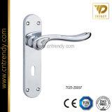 Nuova maniglia europea della serratura di portello del mortasare di stile sulla piastra di appoggio
