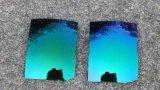 Les lunettes colorées ont polarisé la lentille de Tac (T vert-foncé)
