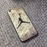 3D Relief Printing Jordan Matte caso do telefone móvel para iPhone 7