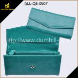 Envolver barato a bolsa de couro de Sythetic das carteiras das mulheres