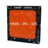 Afficheur LED polychrome de location d'intérieur d'écran de P6 DEL