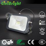 Dünnes Flut-Licht 10W der Auflage-LED