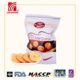 Offerta HACCP della fabbrica di Guangzhou, certificazione di iso e biscotti danesi di stile nel sacchetto della chiusura lampo