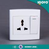 [إيغتو] البريطانيوّن أسلوب [د3062د/1] يتعدّد كهربائيّة جدار مفتاح مقبس تجويف