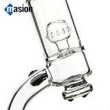 Tubo de agua de cristal del reciclador de la dimensión de una variable del microscopio que fuma (EY 004)