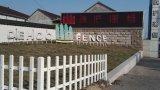 frontière de sécurité en aluminium de villa luxueuse de mode pour la résidence de jardin