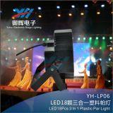 Mini18 Verein-Stadiums-Erscheinen-Beleuchtung LED NENNWERT Stadium NENNWERT PCS-3W DJ Plastikstern-Licht