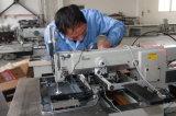 Máquina de costura da etiqueta do colchão da tela de toque