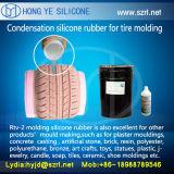 Gummireifen-Form-Silikon, RTV-2 Silikone, Moldable Silikon-Gummi