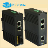 Interruptor industrial do Ethernet com 3 portas