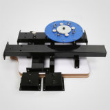 Печатный станок шелковой ширмы станции цвета 2 Китая 4, ручной принтер экрана