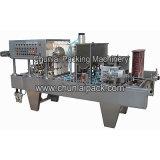 그리스 요구르트 컵 충전물 및 밀봉 기계