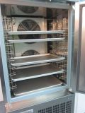 4 de Ijskast van de Keuken van het Roestvrij staal van deuren voor de Opslag van het Voedsel