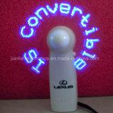 Mini ventilatore chiaro su ordinazione di programma del LED con il marchio stampato (3509B)