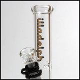 Hfy Glass en stock Chine 9mm Waterpipe Vente en gros Illadelph Straight Tube Verre Smoking Water Pipe Pipes Borosilicate Hookah Shisha
