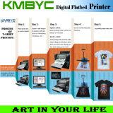 6 Farben-Textildrucken-Maschine mit buntem Entwurf