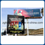 PVC Frontlit retroiluminado Flex Banner de vinilo de la cartelera de 850g Publicidad
