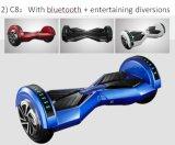 Rotelle astute di Koowheel due cheEquilibrano la bici elettrica della sporcizia del motorino con le diversioni divertenti di Bluetooth