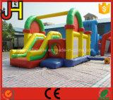 Castillo animoso inflable divertido para los niños