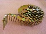 Плоская катушка, провод Collated для ногтей катушки /Wire ногтей катушки 15 градусов