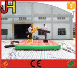 Arena gonfiabile di combattimento, anello Jousting del gladiatore gonfiabile, fornitori gonfiabili del gioco di combattimento