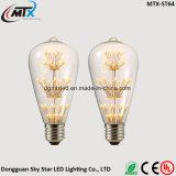 Van LEIDENE de LEIDENE kaarsbollen 3W Warme Witte E27 220V Energie van Bollen - lamp van de Gloeidraad van de Gloeilamp van Edison van het Glas van besparingsBollen Retro voor de Verlichting van de Decoratie van het Huis