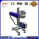 Машина маркировки лазера мухы неметалла верхние волокно ранга 30W портативные & металл СО2 для пакета еды