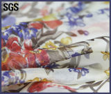 Ткань печатание цифров Silk напечатанная таможней шифоновая