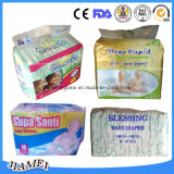 Vendita calda del Mama Ba Disposable Baby Diaper nel Ghana