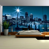 El último papel pintado de moda de la aduana, libera la impresión perfecta de los murales de la pared de la alta calidad del diseño