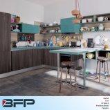 Het nieuwe Ontwerp van de Keuken van de Melamine