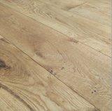 Pavimentazione di legno costruita quercia naturale dell'impiallacciatura/pavimentazione del legno duro