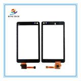 Schermo di tocco mobile dell'affissione a cristalli liquidi del telefono delle cellule per le parti di vetro del convertitore analogico/digitale di Nokia N8