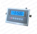 Prova dell'acqua che pesa indicatore con l'alloggiamento dell'acciaio inossidabile (XK315A1GB-LF)