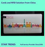 エポキシ樹脂が付いている中国RFIDの札は四色刷保護し、