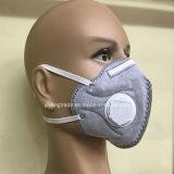 5 respirador disponible del polvo de la capa N95 con el carbón activo