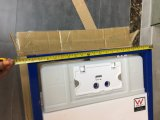 HDPE silencioso 5 años de cisterna embutida garantía del tocador con el certificado de la filigrana