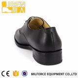 Couro genuíno Reino Unido Escritório Militar Oxford Shoes