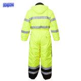 パッドを入れられたオーバーオール、パッドを入れられたつなぎ服、仕事着、安全摩耗、保護Workwearの仕事着