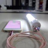 Batterie externe Batterie Power Bank LED avec lampe LED rechargeable