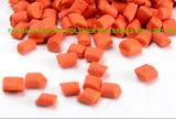 ABS、プラスチックPPの餌のための高い濃縮物とのオレンジカラーMasterbatch