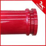 Doppelwand-Betonpumpe-Rohr für konkrete plazierende Hochkonjunktur oder LKW-Eingehangene Hochkonjunktur-Pumpe