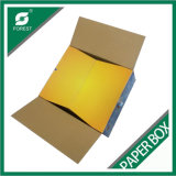 Impresión a color de papel corrugado caja de helado