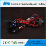 4 Conectores Automotriz Arnés de cables 108W Cable de cables de la barra de luz